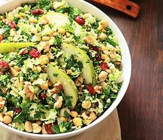 Pear-Brussels Sprout Salad   Finding Vegan