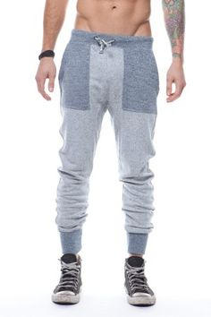 Matiere Marled Navy Sweat Pants