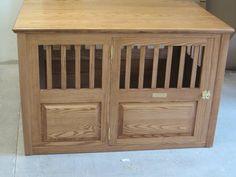 Handmade Furniture-Style Pet Crate