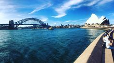 Sydney #travel #Aus #Sydney #SydneyOperaHouse #sydneyharbourbridge #tourists #thatview by elbutton93 http://ift.tt/1NRMbNv
