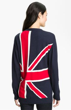 Press 'British Intarsia' V-Neck Cardigan available at #Nordstrom - my gift to myself for our England mission trips.