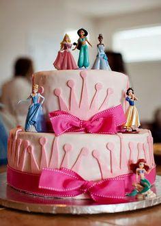 sugar smile cake shop: Disney Princess Cake!