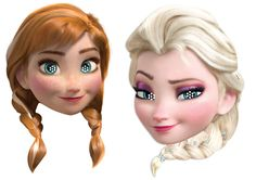 6 Μάσκες με την Άννα και την Έλσα