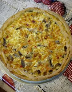 Desert Recipes, Quiche, Bakery, Stuffed Mushrooms, Deserts, Health Fitness, Food And Drink, Appetizers, Vegetarian