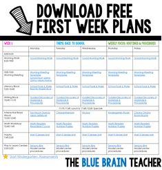 Download first week
