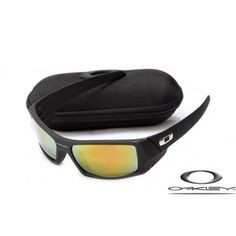 6db0f8bda5 Oakley Gascan Sunglasses With Matte Black Frame Fire Iridium Lens Online  Sunglasses Shop