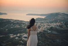 Photo Shoot on Santorini by Anna Sulte #photosession #Santoriniphotoshoot #sunset #santorini #greece  #santorinishoot