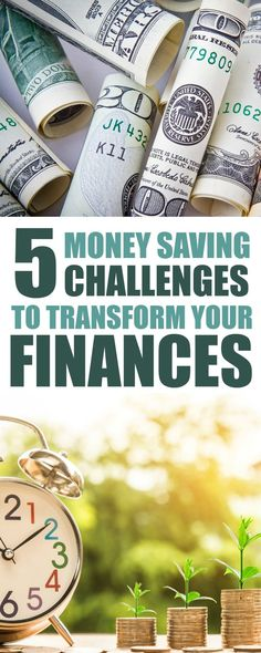 These challenges to save money are SO FUN! I can't wait to start the money saving challenge and build my emergency fund! These printables are so HELPFUL! #savemoney #personalfinance #printable