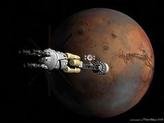 Кто, когда и как собирается лететь на Марс