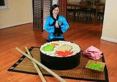 Giant lego shushi