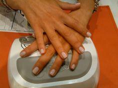 """La nostra cliente Giulia per il giorno del suo matrimonio ha scelto #IlBelloDelleUnghie #NailBar #Roma #COIN #Excelsior Colore #Gelish simple sheer piu smalto #Dior """"diorlisse 800"""""""