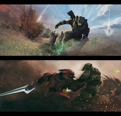 Halo: Spartan vs. Covenant