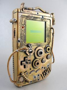 Steam Punk Game Boy