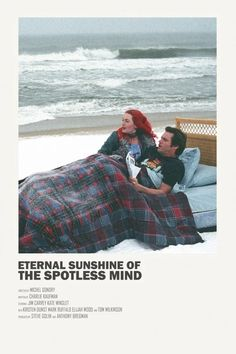 eternal sunshine of the spotless mind Poster Poster. movie poster for eternal sunshine of the spotless mind Iconic Movie Posters, Minimal Movie Posters, Cinema Posters, Movie Poster Art, Poster S, Iconic Movies, Poster Prints, Poster Wall, Labyrinth Film
