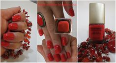 Ellen Tracy Red Nail Polish Vernie A Ongles Collection