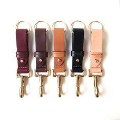 Leather Works Minnesota's key chain