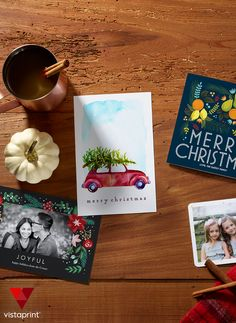 Make this year's Christmas card your best one yet! Vistaprint has hundreds of designs to explore. Add a photo or collage and custom messaging to bring smiles to everyone on your list. Plus, order today and save 50% on your cards.