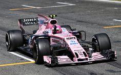 Download wallpapers Esteban Ocon, 4k, Formula One, F1, 2017 cars, Formula 1, Force India