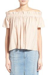 Lucca Couture Off-the-Shoulder Blouse