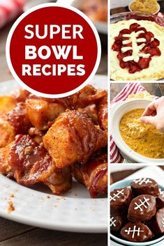It's time for the big game and the main question is are you there for the food or football? If it's the food we have gathered our Favorite Super Bowl Recipes. Everything form Dips, Small Bite Appetizers, Finger Foods and Desserts! Finger Food Appetizers, Appetizer Recipes, Finger Foods, Salami Appetizer, Dinner Recipes, Tailgating Recipes, Tailgate Food, Crockpot Recipes, Cooking Recipes