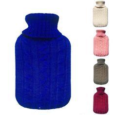 2000 ml Botella de Agua Llena de Agua Caliente de Punto Bolsas de Franela Súper Blando de invierno bolsa de agua caliente cubierta de la caja 3