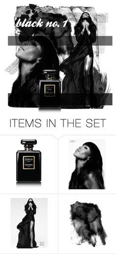 """Black No 1"" by ella-ancuta ❤ liked on Polyvore featuring art"