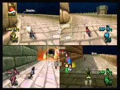 Mario kart Wii mii - YouTube