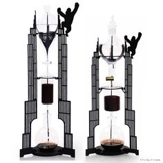 Dutch Lab Cold Drip Coffee Machines Combine Sculpture and Functionality. | http://www.ifitshipitshere.com/dutch-lab-drip-coffee-machines-combine-sculpture-functionality/