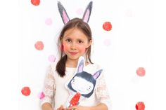 BUNNY EARS DOLL via DINKY