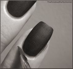 perfect polish (the trick? using a flexible, slanted brush)