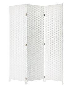 Look at this White Pensacola Screen on #zulily today!