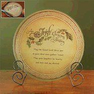 """""""An Irish Christmas Blessing: May the Good Lord bless you as your dear ones gather 'round. May your laughter be hearty, and love and joy abound."""" Our tempered glass cutting board is heat safe up to Boxed. Irish Christmas Gifts, Christmas In Ireland, Celtic Christmas, Christmas Blessings, All Things Christmas, Christmas Crafts, Holiday Messages, Christmas Baskets, Make Your Mark"""