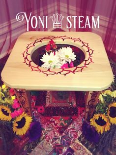 Yoni Steaming I S a supreme treatment for your Womb Temple & Your Divine Feminine Spirit Yoni steam baths, V-Steams or Vaginal Steam Baths, are an old respected treatment for women used by Maya midwives and healers. Bajos, as they are known in Central America, are used to assist in the cleansing, and nourishing of the uterus in conjunction with... Read More