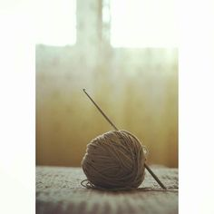 Keep calm and chrochet on♥ #yarn #crochet #crochethook