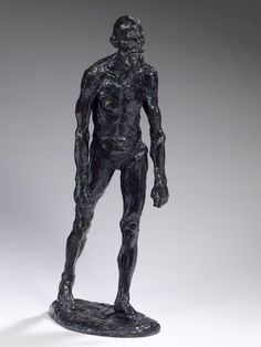 Auguste Rodin... Eustache de Saint-Pierre, Nude Study