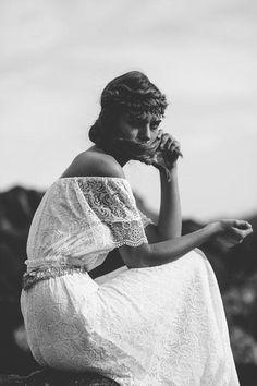 Naturally Beautiful Boho Wedding Dresses By Grace Loves Lace - Weddingomania Grace Loves Lace, White Lace Wedding Dress, Wedding Dresses, White Dress, Lace Dresses, Chiffon Dress, Boho Vintage, Dress Vintage, Vintage Style