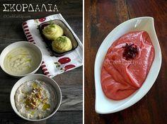 skordalies-320 Fast Dinners, Greek Recipes, Food And Drink, Desserts, Geo, Crafts, Deserts, Greek Food Recipes, Dessert