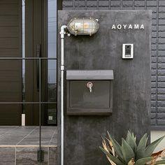Japanese Plants, Shop Facade, Post Box, Entrance Gates, Gate Design, Japanese House, House Rooms, My Room, Exterior Design