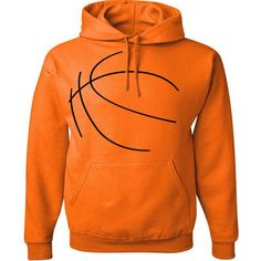 Custom Personalized Basketball Pullover Hooded Sweatshirt (Unisex... ($33) ❤ liked on Polyvore featuring tops, hoodies, dark orange, sweatshirts, women's clothing, pullover hoodie, sweat shirts, black pullover hoodie, black hoodies and pullover hooded sweatshirt