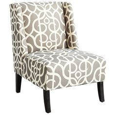 Maddie chair - $349.95 US  Owen Wing Chair - Metro Pewter
