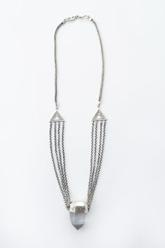 From delicate layering necklaces and chunky statement necklaces, you'll find great boho designs at Spell & The Gypsy Collective. Silver Necklaces, Crystal Necklace, Jewelry Necklaces, Beaded Necklace, Spell Designs, Rings N Things, Boho, Beautiful Necklaces, Handcrafted Jewelry