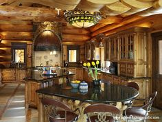 Log Homes - Interiors