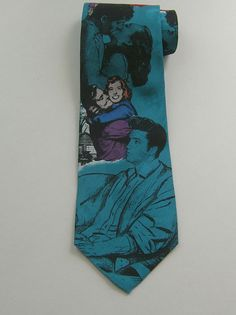 Elvis Presley Collections 100% Silk Tie Love Me Tender Superba #ElvisPresleyCollectionsbySuperba #NeckTie