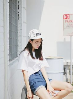 Crop top and high waist shorts. Toss a baseball cap on the side please. What do you think guys? #streetwear #chicistry #urbanwear #streetfashion Chicistry is an online women's streetwear shop. We support the independent and outgoing, while remaining distinctly fashionable at the same. Remain Classy. Rad. Fab. That is who you are. Currently shipping globally.