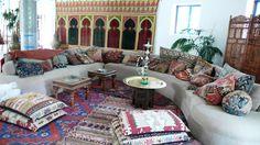 Moroccan decorating ideas.