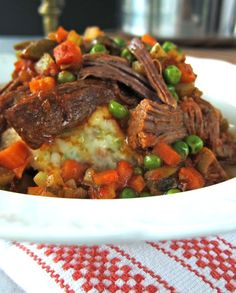 Ropa Vieja. Tender aromatic beef braise boldness at its finest. Lively Latin flavors that explode on impact. Yum!   marksdailynosh.com