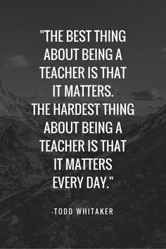 35 Inspirational Quotes for Teachers | School tips, Always ...