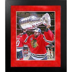 Corey Crawford 2014-15 Stanley Cup Celebration 8x10 Framed Photo
