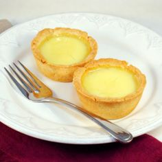 Sweet and creamy egg custard in a buttery tart shell. Better than the tarts in the dim sum restaurants and bakeries.