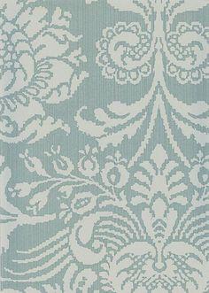 aqua blue damask wallpaper   ... Damask Wallpaper Duck egg white damask design printed on aqua strie